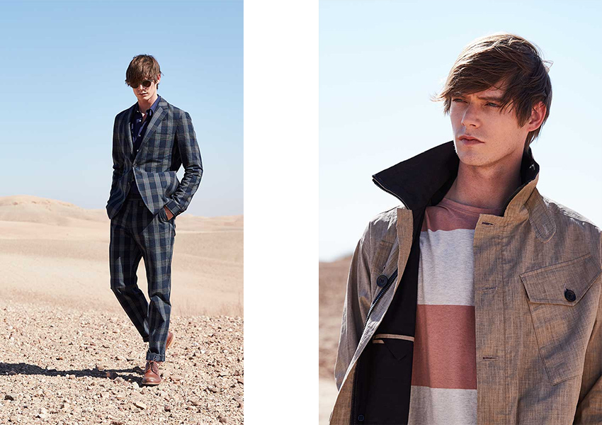 Oliver Spencer Lookbook Image 1