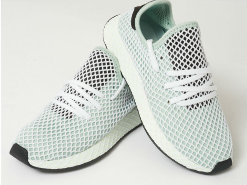 Adidas Originals Deerupt Ash Green full view