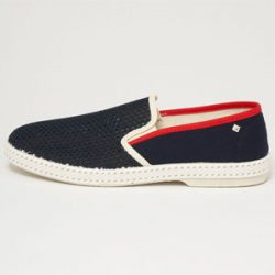 Espadrilles rivieras 20 navy and red