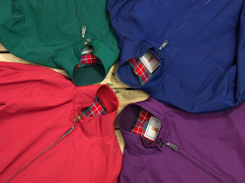 Baracuta Harrington jackets multiple colours