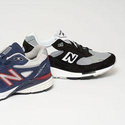 New-Balance 990 and 9915