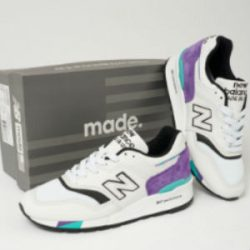 New Balance made in US grey and purple 997