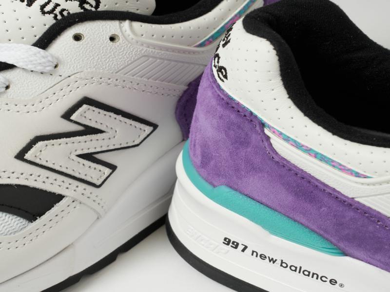 New Balance 997 suede upper