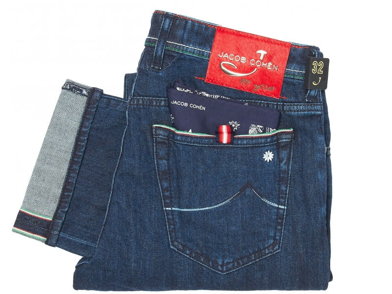 Jacob Cohen Limited Edition Comfort Jeans Dark Wash