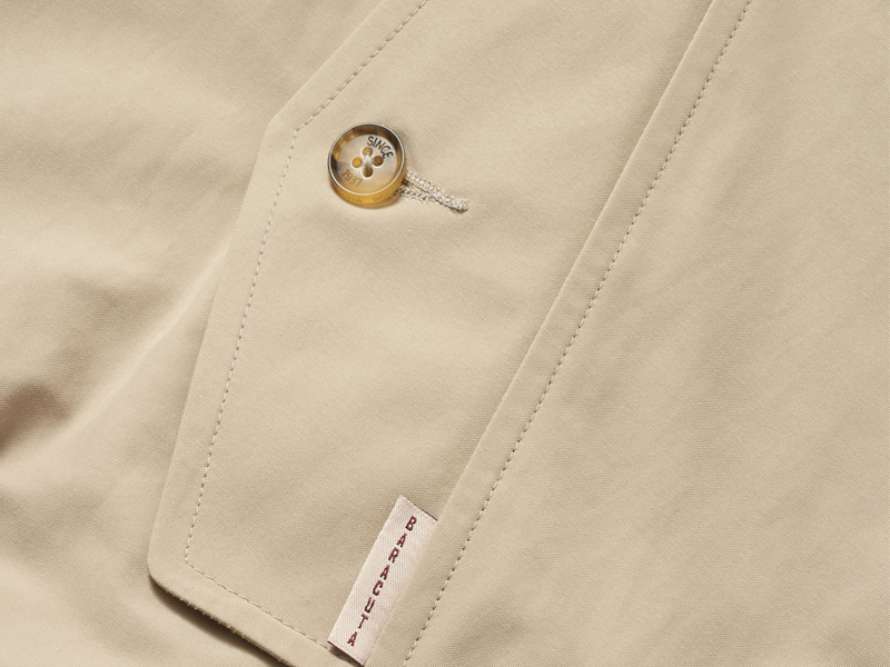 Stuarts x Baracuta harrington G9 Relaxed Fit Close Up