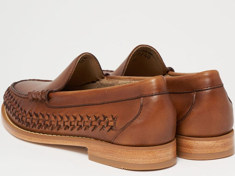 Bass Weejuns venitian weave both shoes