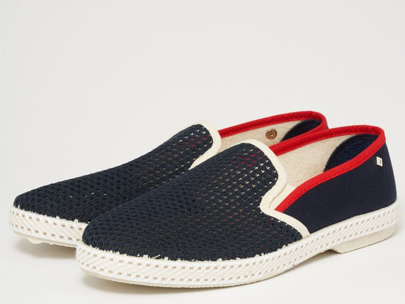 Espadrilles 20 navy both shoes