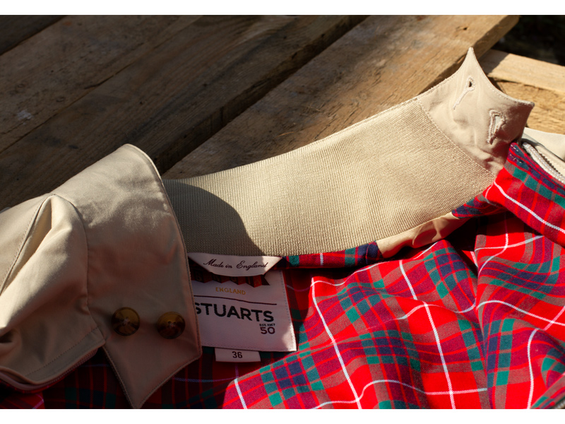 Stuarts x Baracuta harrington G9 Feature