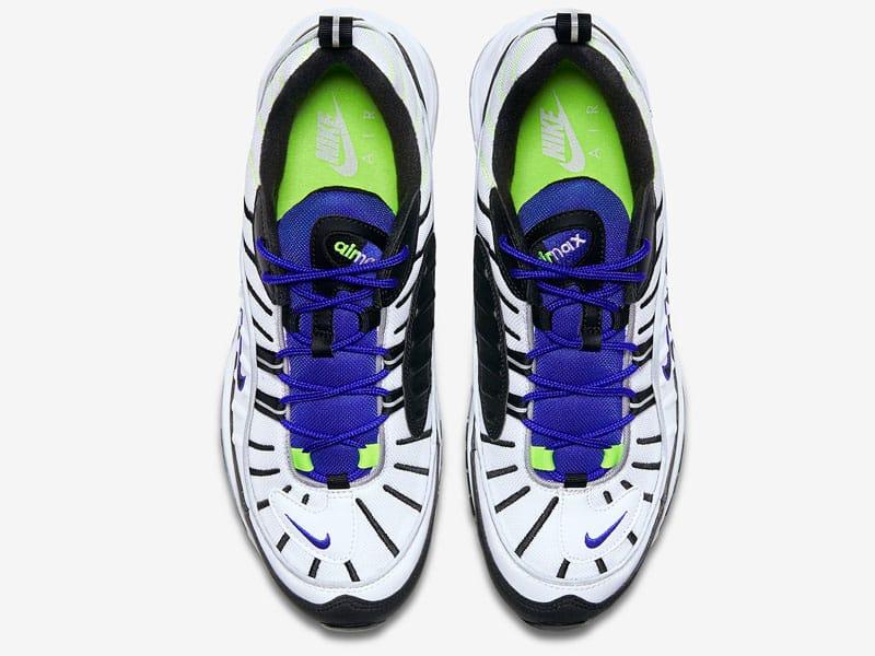 Nike Air Max 98 Volt top view