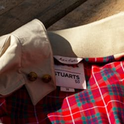 Stuarts x Baracuta Harrington G9 Relaxed Fit