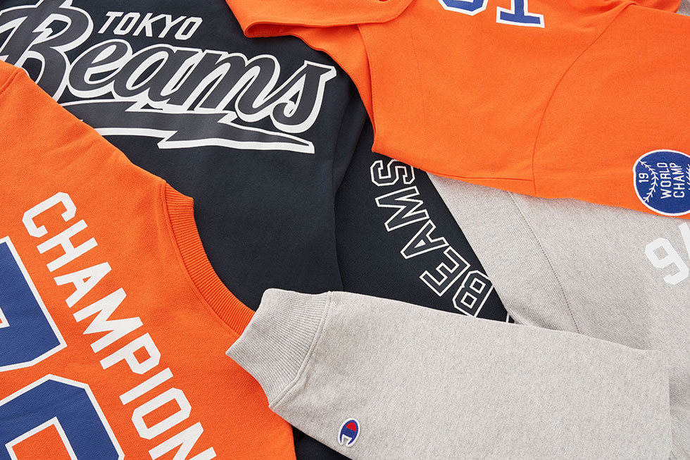 Champion x Beams capsule collection