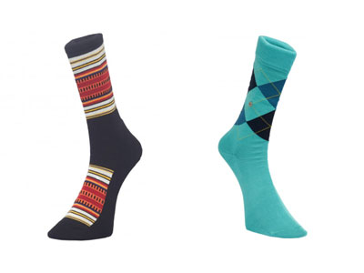 Burlington Manchester pendleton socks