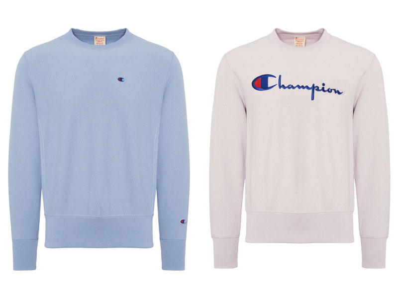 Champion logo sweatshirts