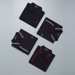 Fred Perry Polo Shirt Grid