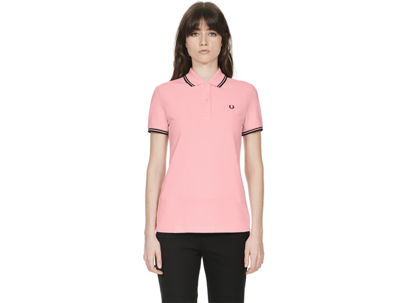 Fred Perry Women's twin tipped polo shirt