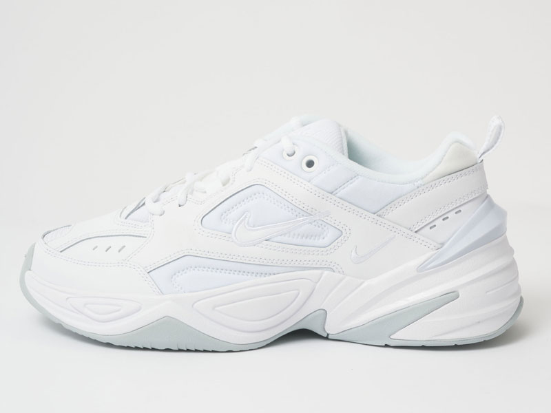 Nike M2K Tekno white side shot