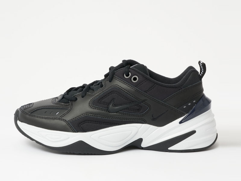 Nike M2K Tekno black side vew