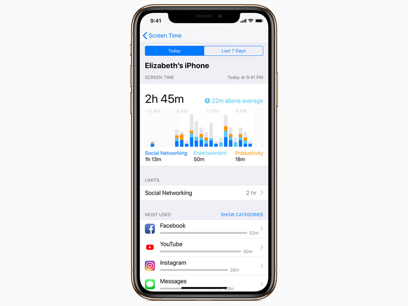Apple IOS 12 digital health