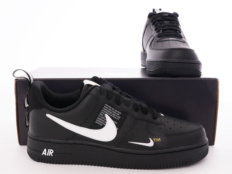 nike air force one utility black