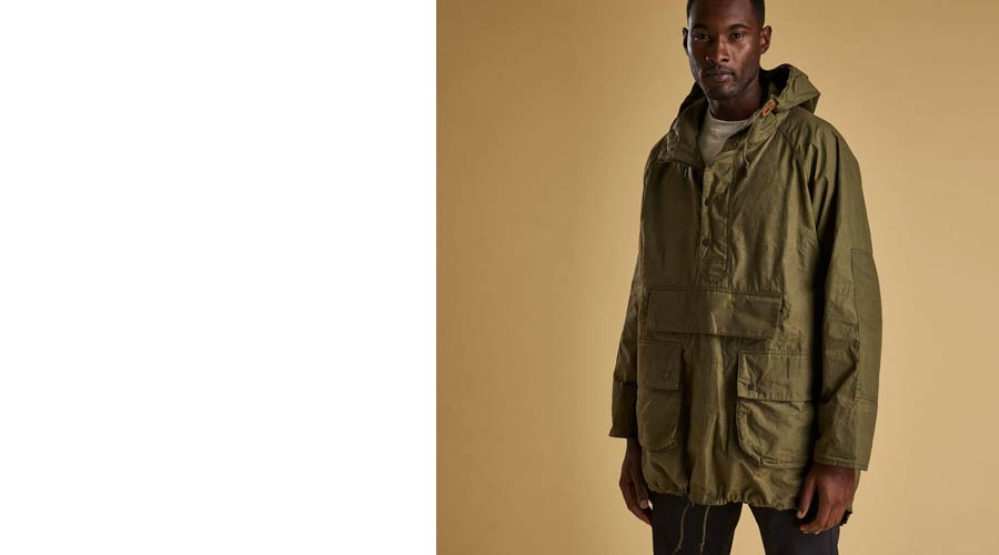 Barbour x Engineered Garments Warby Parka