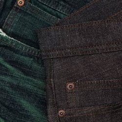 Naked & Famous Green Core Selvedge