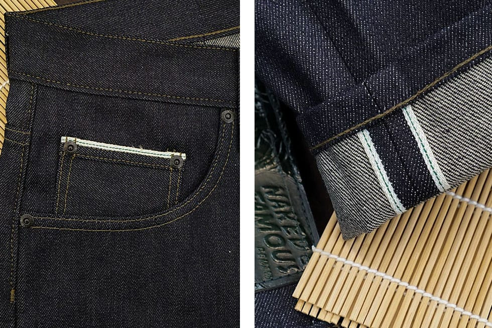 Naked & Famous Seaweed Selvedge