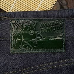 Naked and Famous Seaweed Selvedge Denim