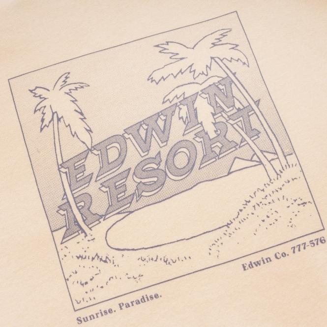 EDWIN vanilla holiday tee