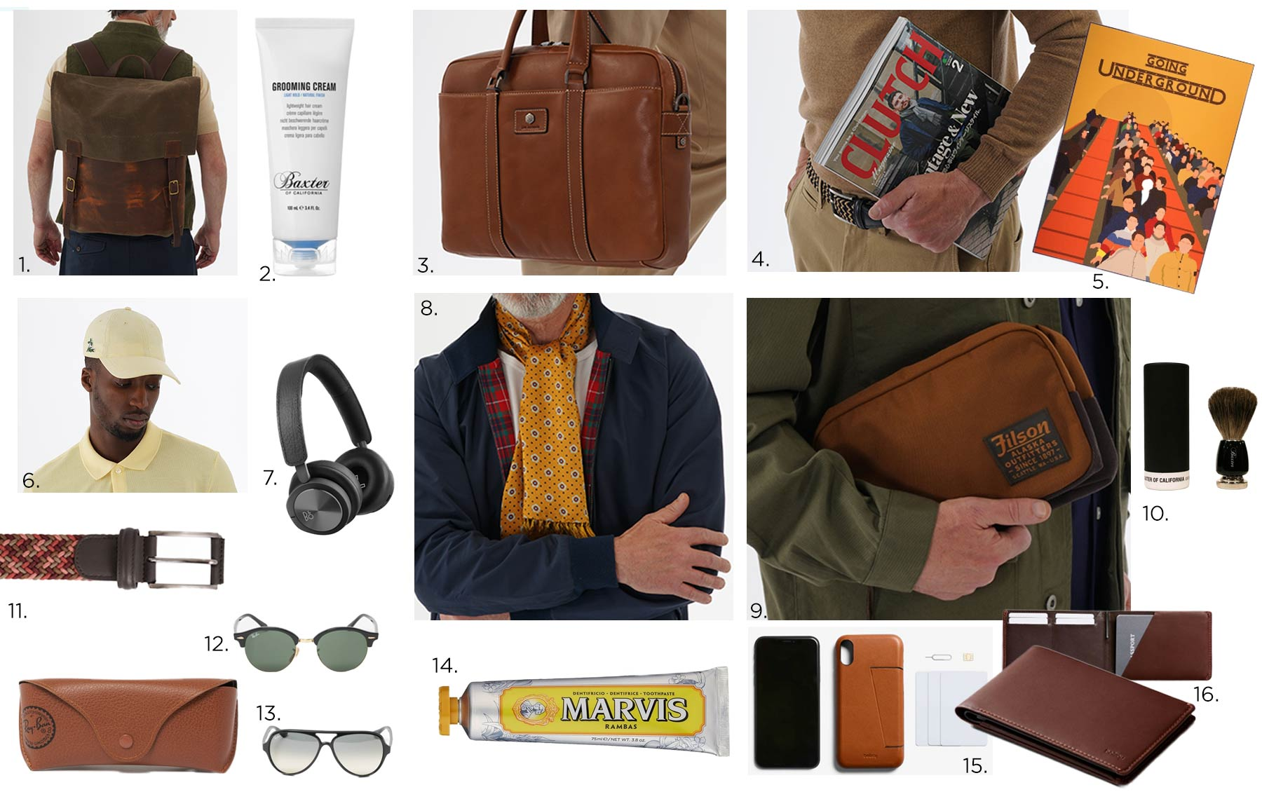 The Fathers Day Gift Guide by Stuarts London