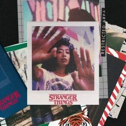 Polaroid & Stranger Things Collab