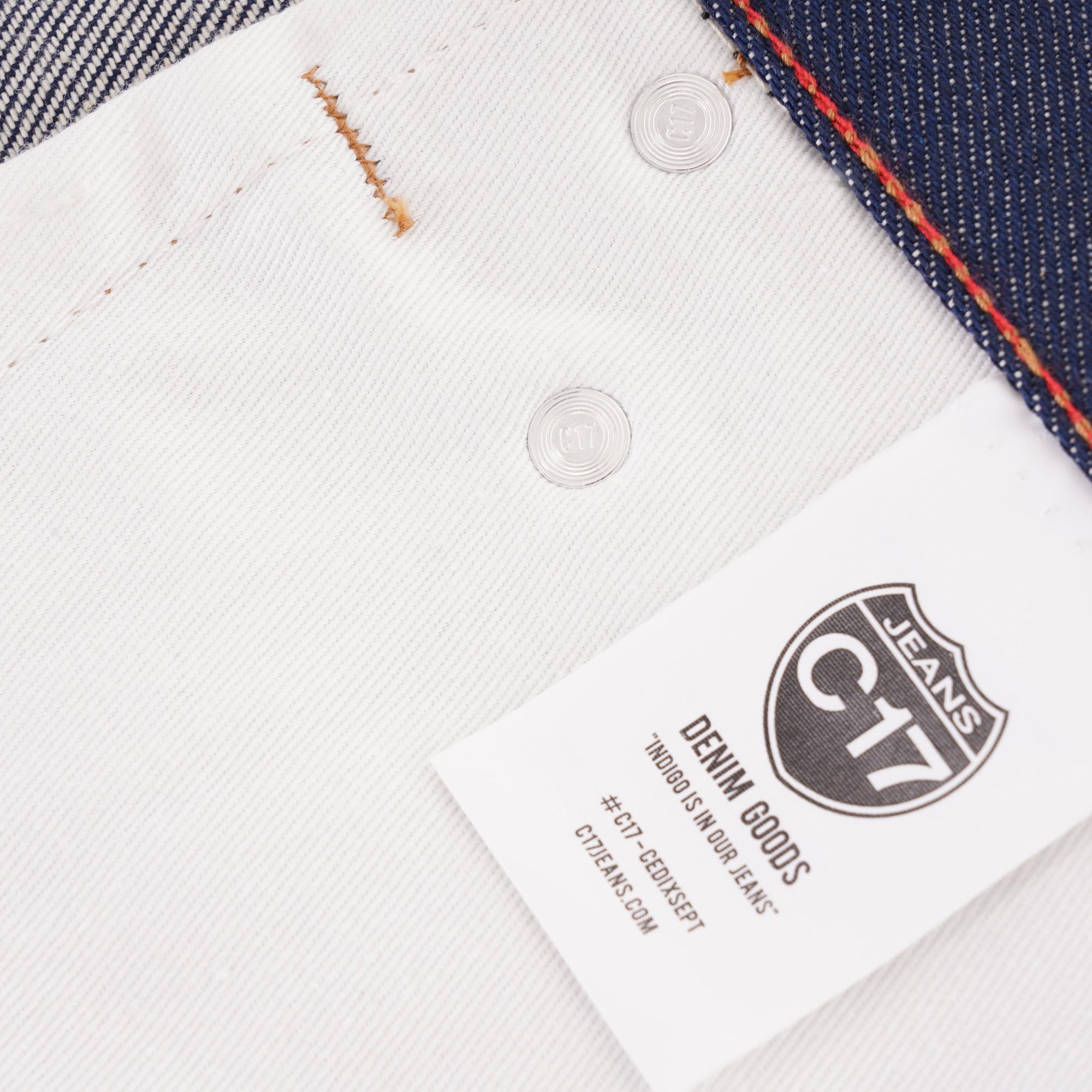 C17 Jeans Label Close Up