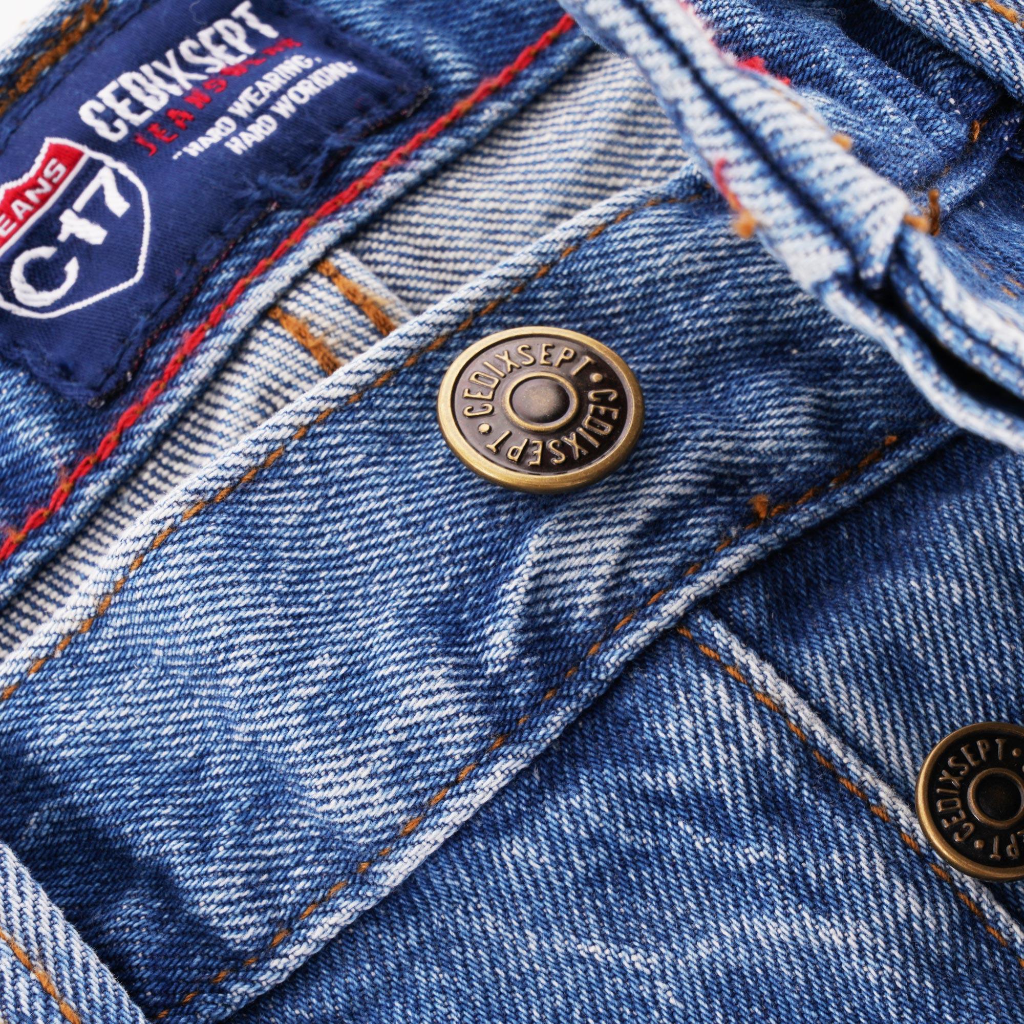 C17 Jeans Buttons