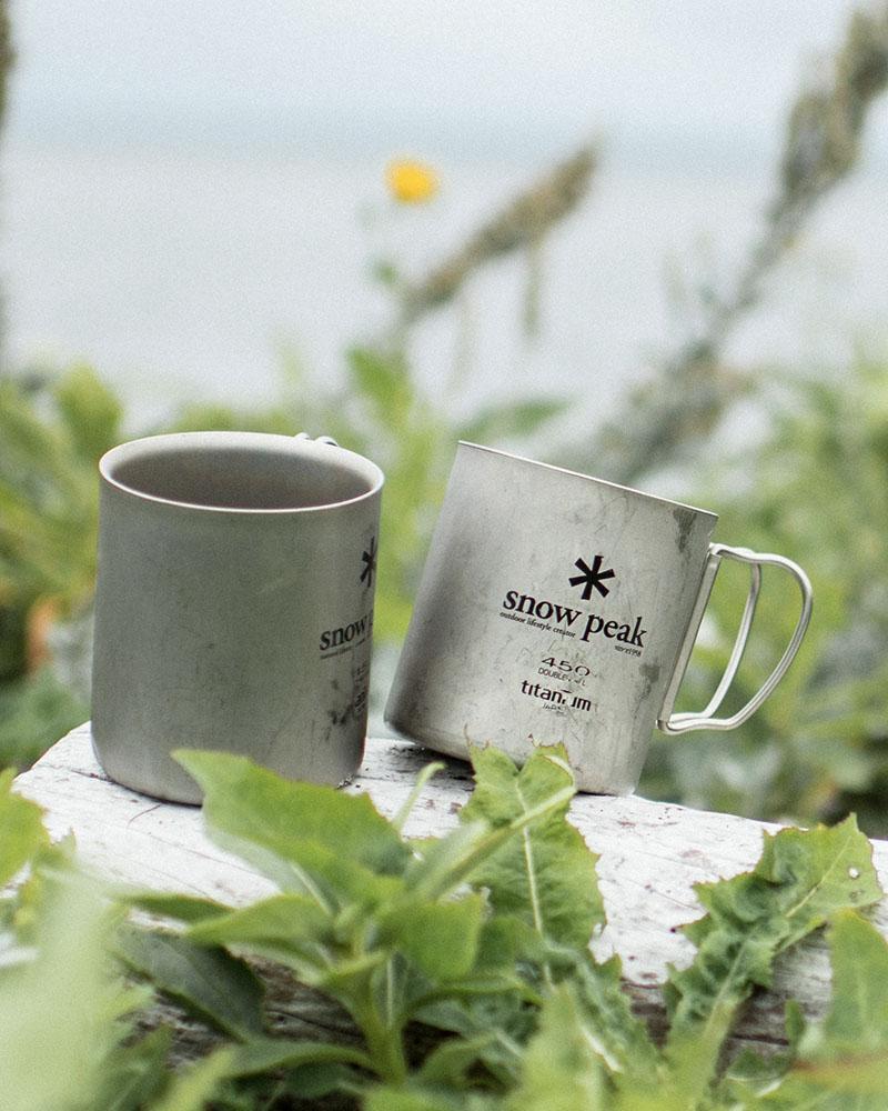Snow peak cups