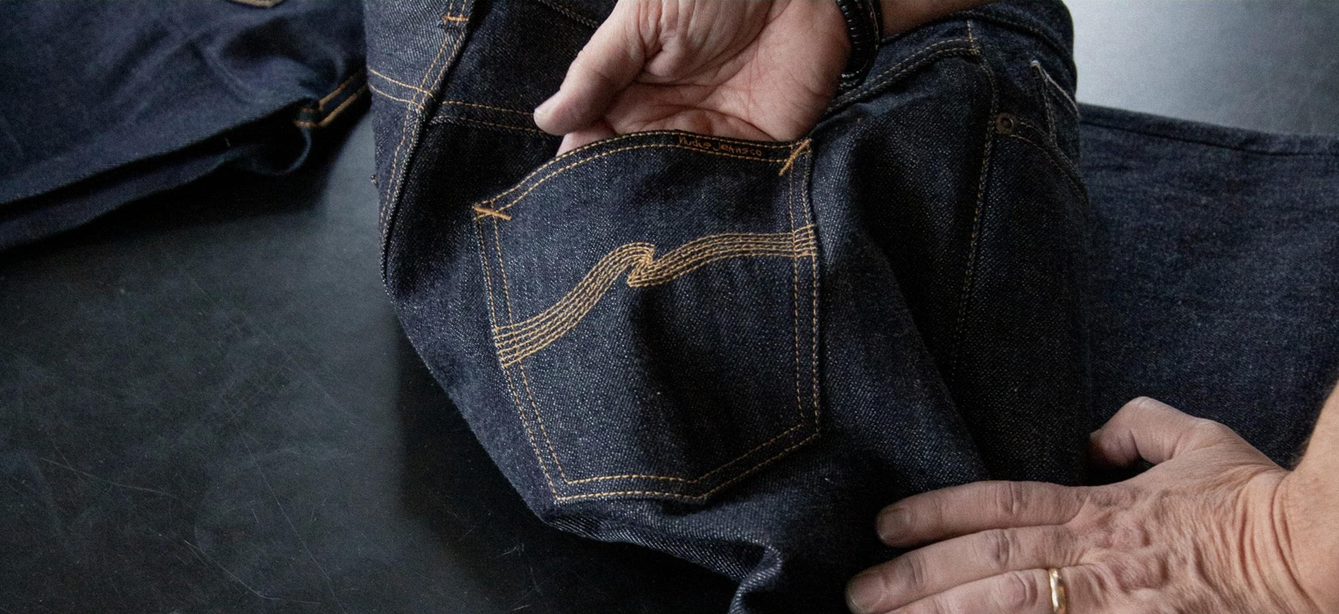 Selvedge Jeans Close Up