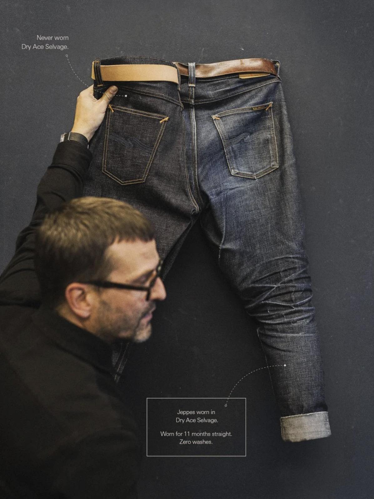 Nudie Jeans Fade Demonstration