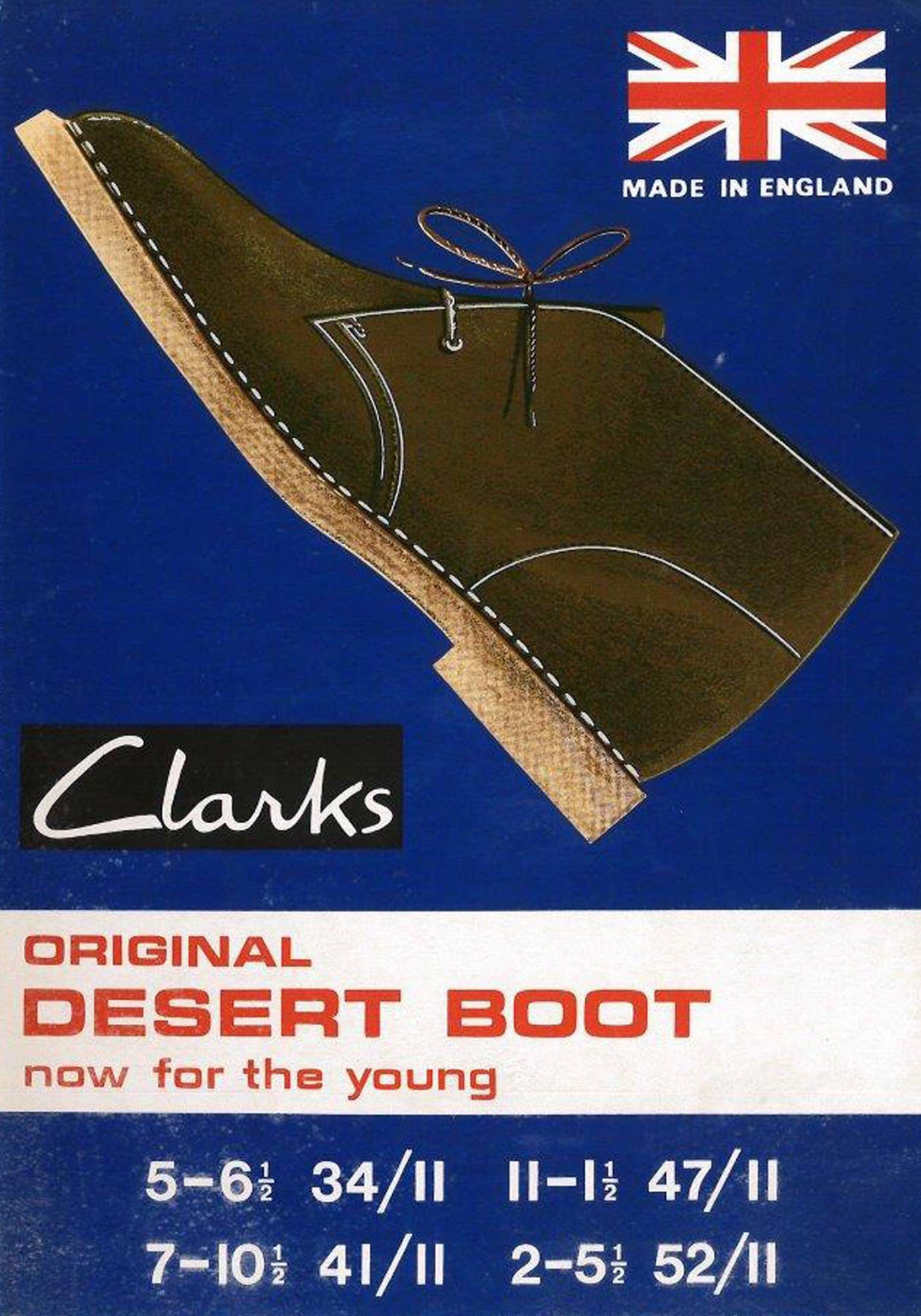 Old Clarks Ad