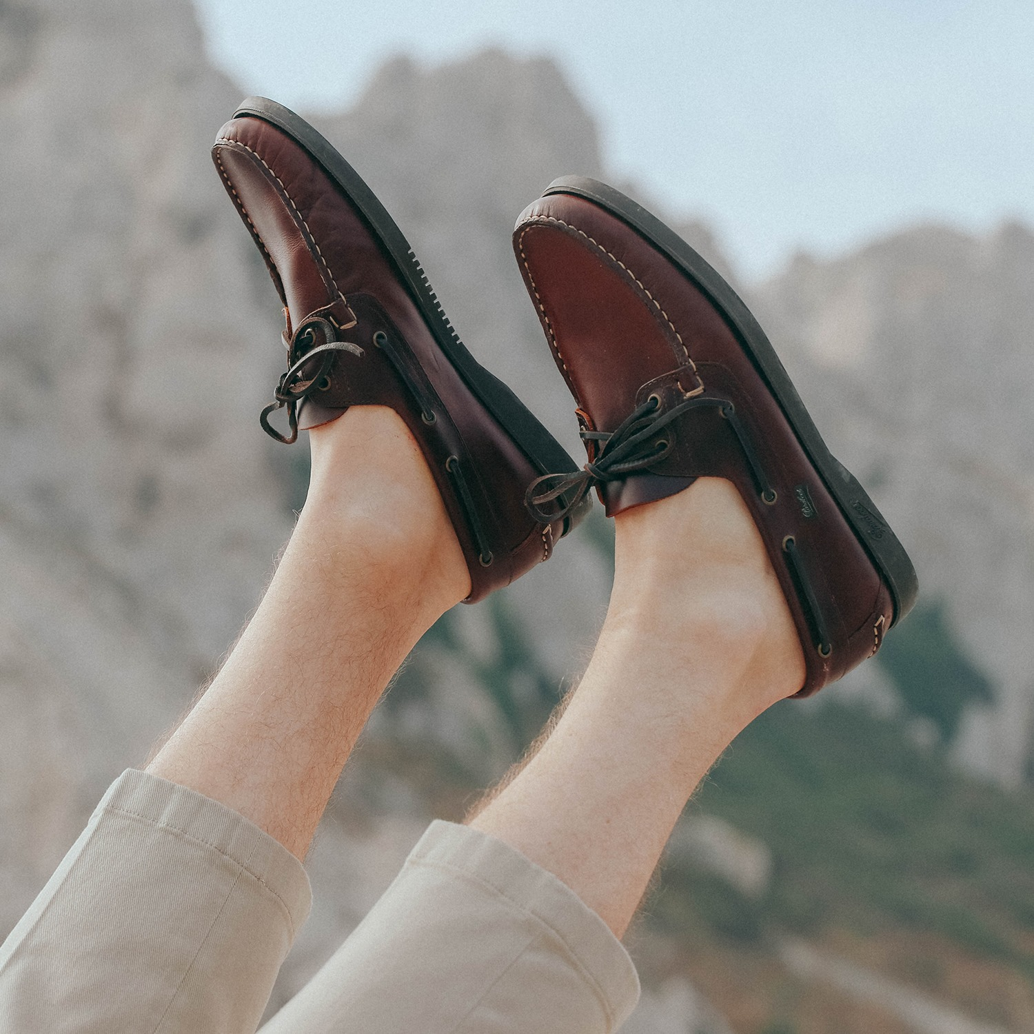 Paraboot boat shoes