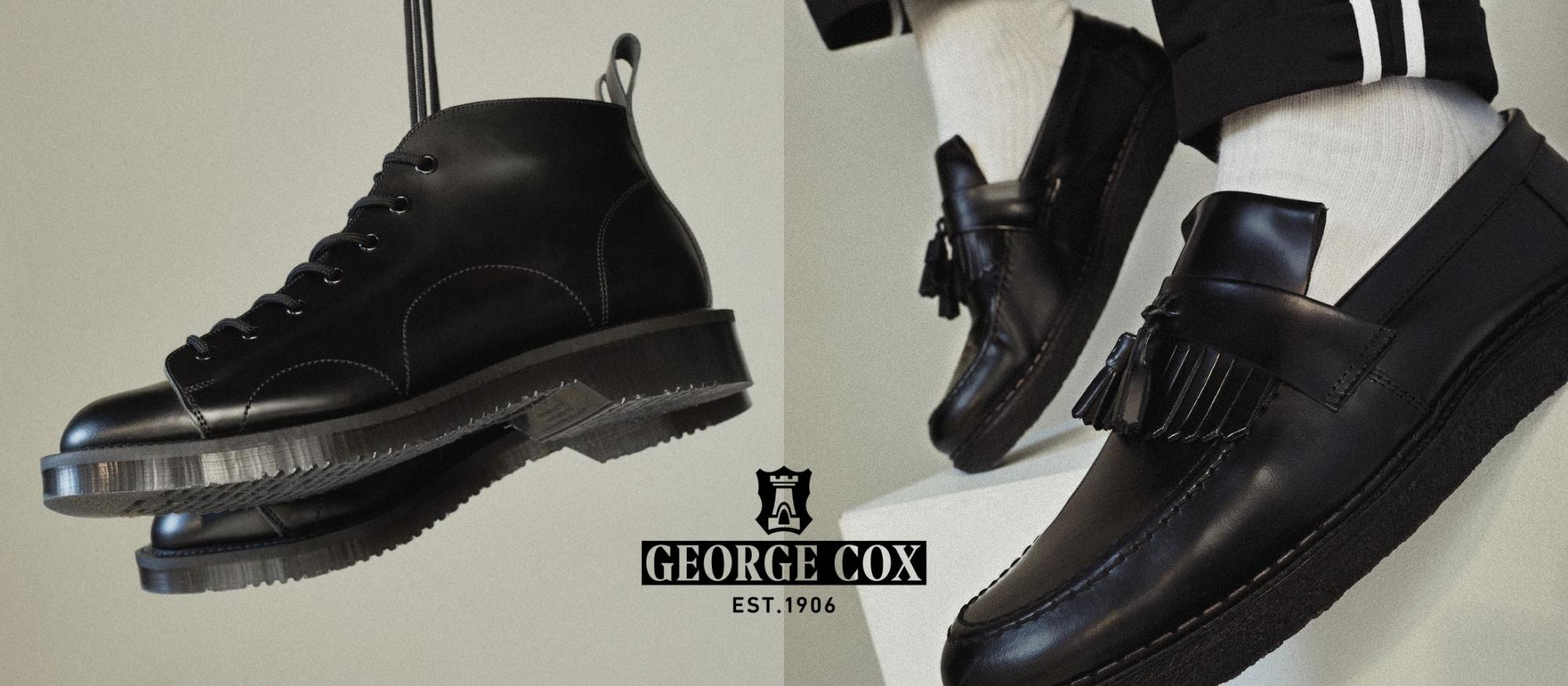 George cox Fred Perry banner