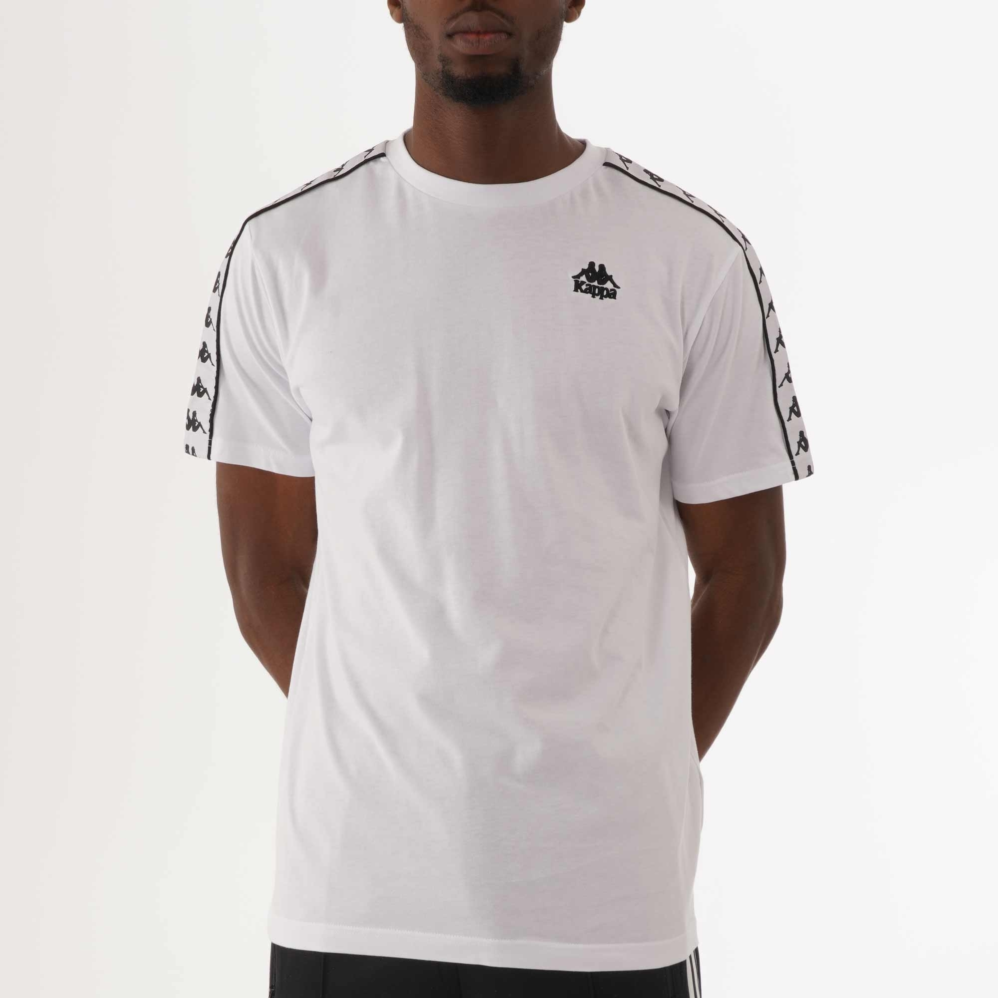 Pequeño Permitirse Vueltas y vueltas  Kappa 222 Banda Charlton T-Shirt | White | 304KPR0