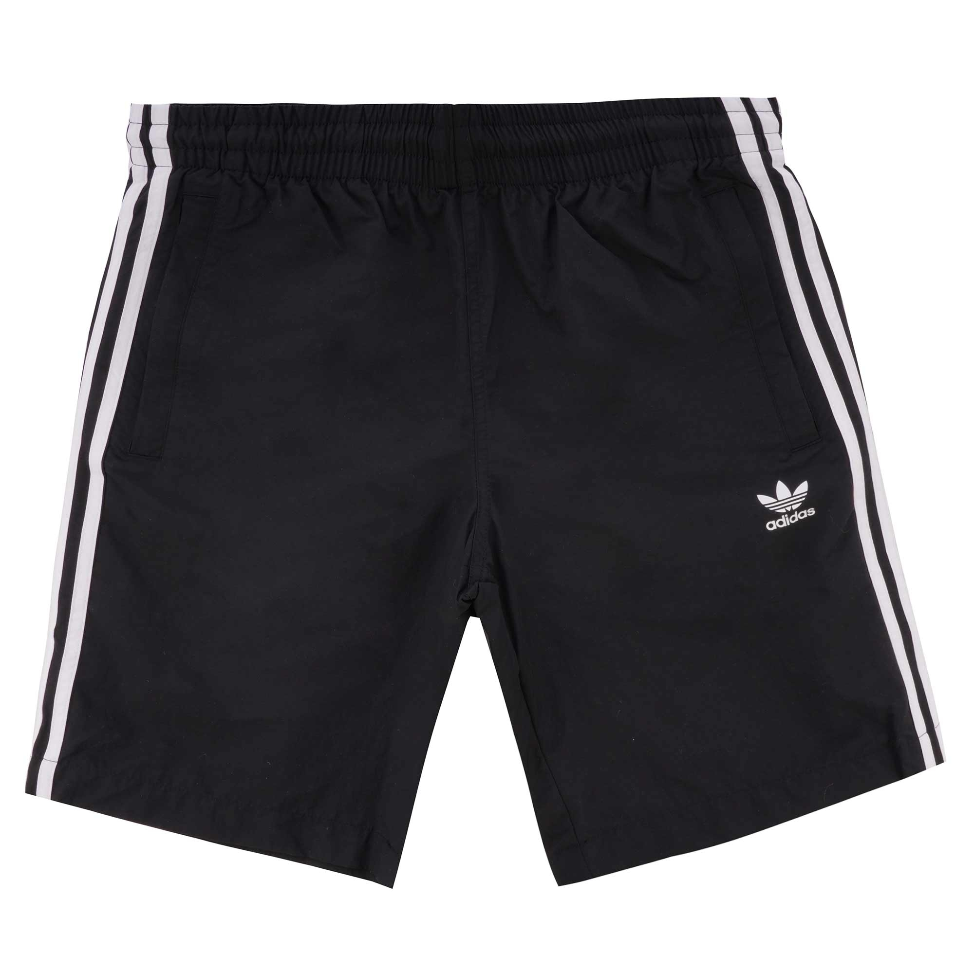 4cde6af44d adidas Originals 3-Stripes Swim Shorts | Black | CW1305