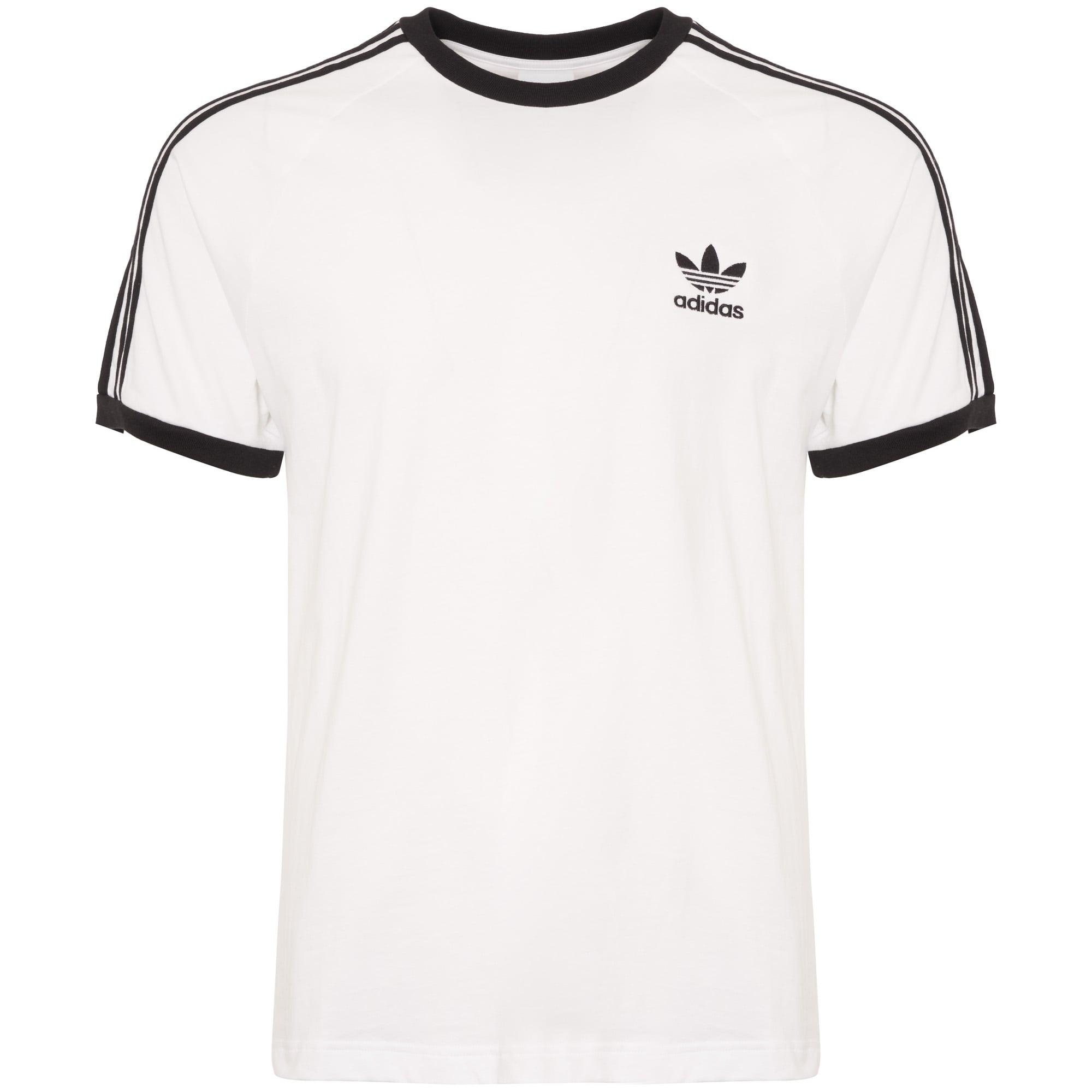 1cd45eeba9 Adidas 3-Stripes T-Shirt | White | CW1203 | Stuarts London