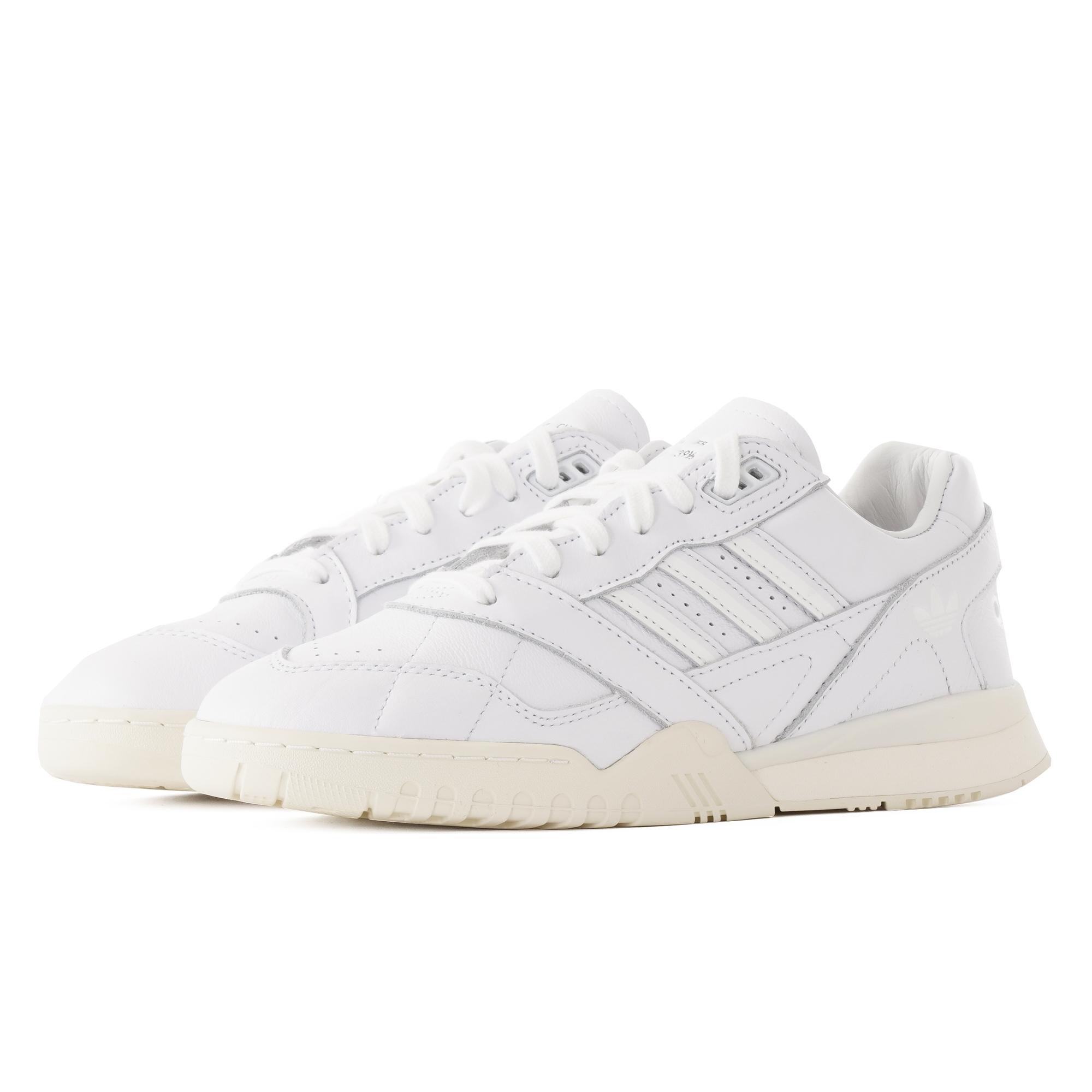 adidas Originals white A R trainers