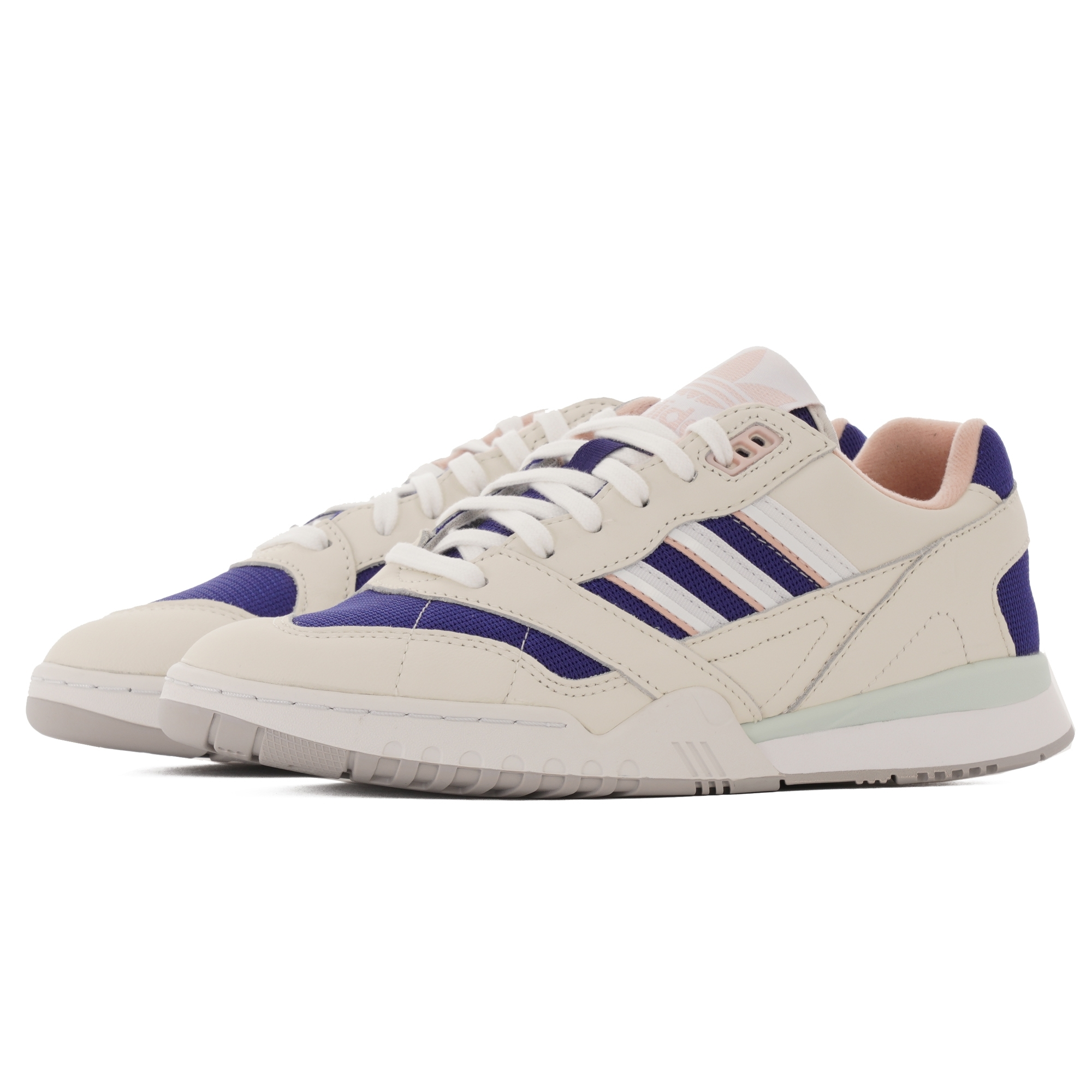 A.R. Trainer Off White, FTW White & Real Purple