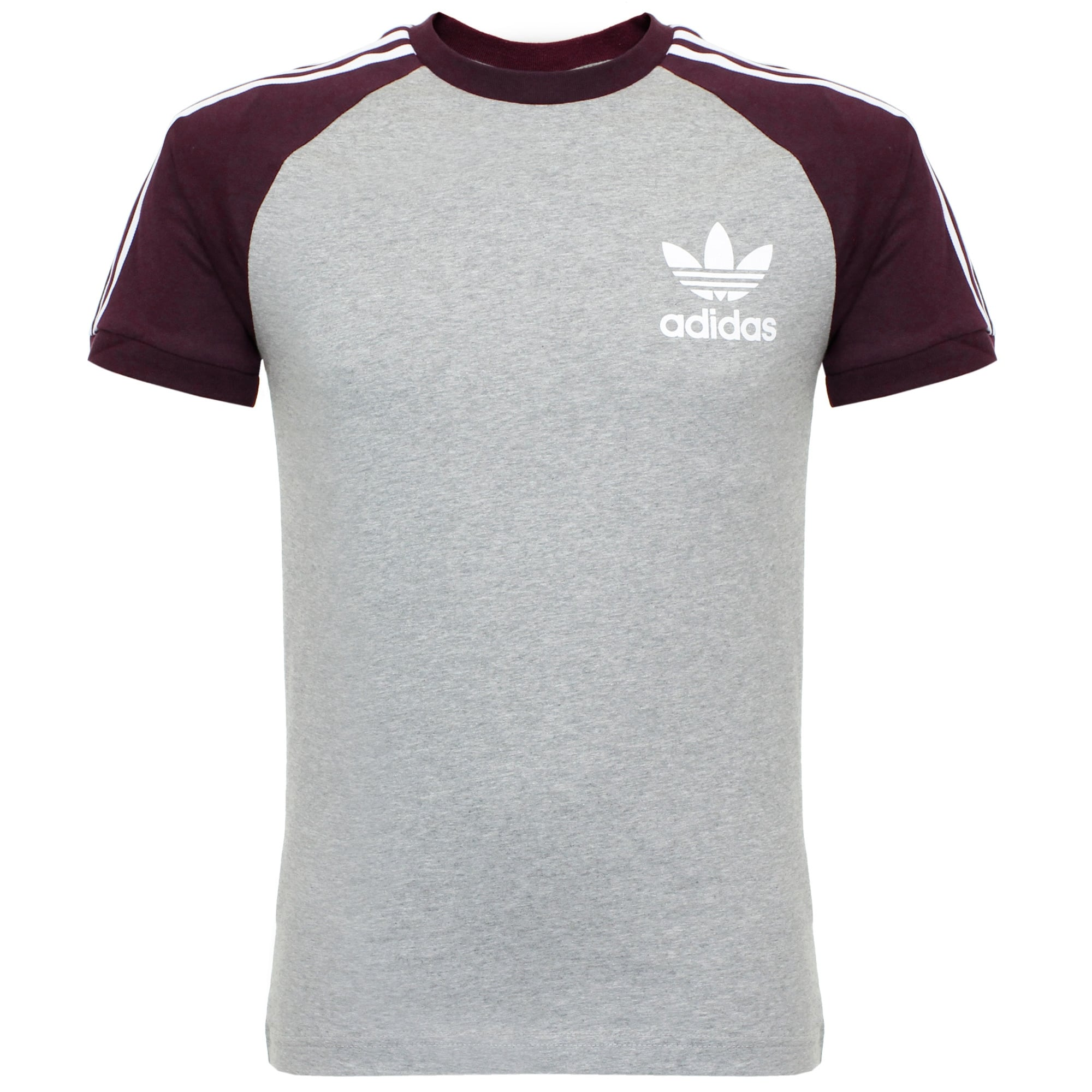 adidas essentials california medium grey t shirt. Black Bedroom Furniture Sets. Home Design Ideas