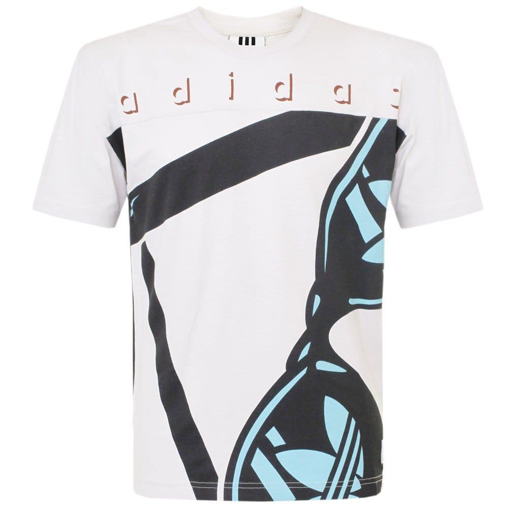 adidas vintage clothes island vintage white t shirt s24535