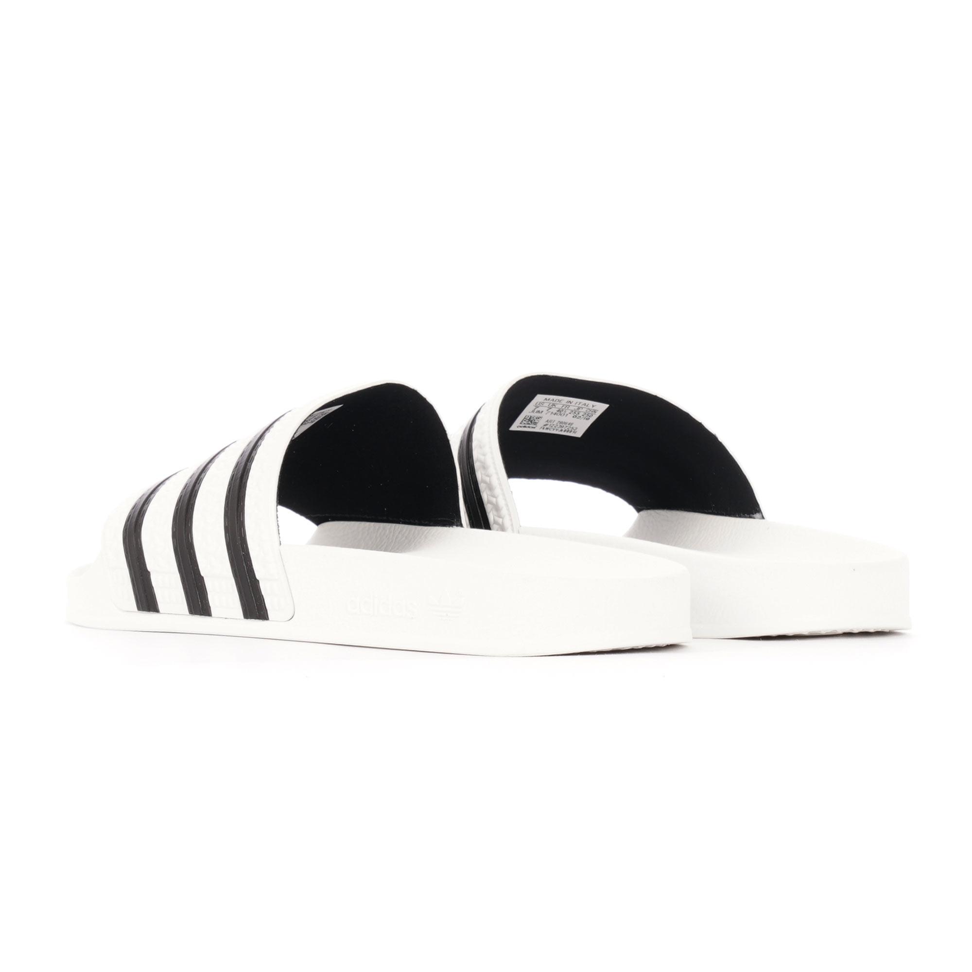 4e269a8d4 Adilette Slides - White  amp  Core Black