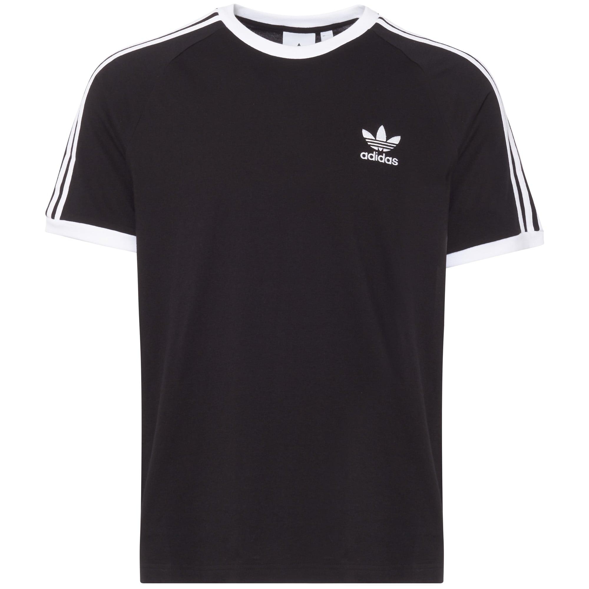Image of Black 3-Stripes Tee