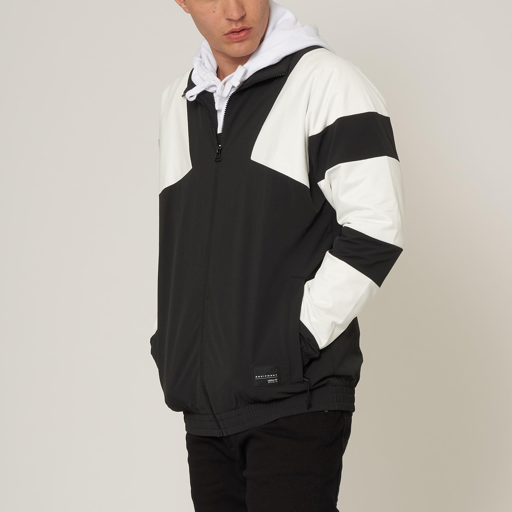 adidas Originals Black & White EQT Bold 2.0 Track Jacket