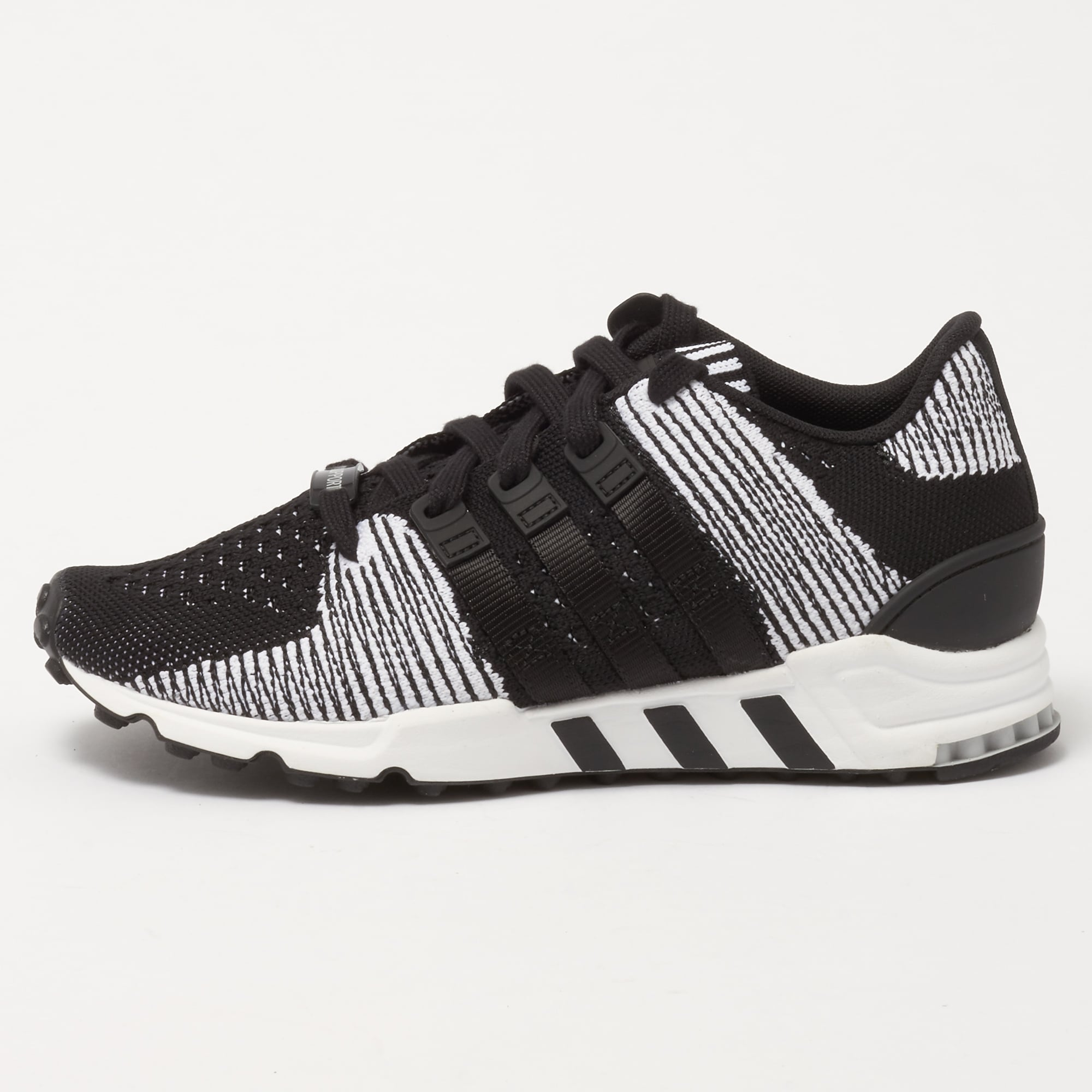uk availability aliexpress promo codes adidas Originals EQT Support RF Primeknit - Core Black & FTW White