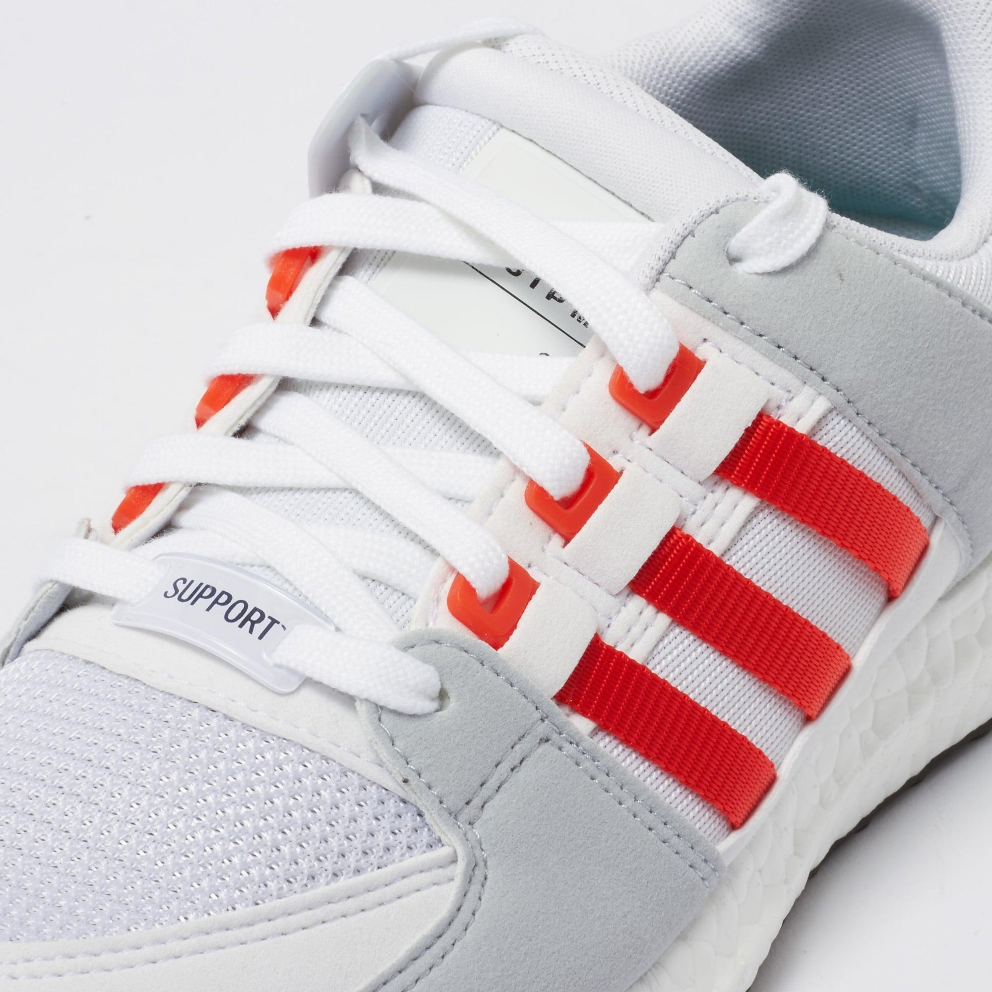 premium selection c217f 3e8e6 EQT Support Ultra - Running White amp Bold Orange
